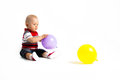 Free Little Boy And Balloons Royalty Free Stock Photos - 26170548