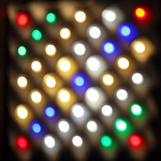Free Led Lights Royalty Free Stock Photo - 26170815