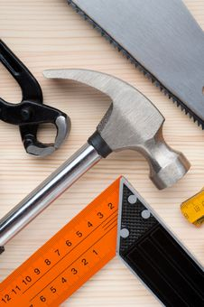 Free Tools Background Stock Photography - 26172312