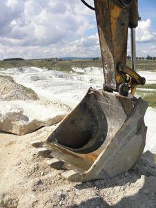 Free Kaolin Mine Royalty Free Stock Photo - 26175305