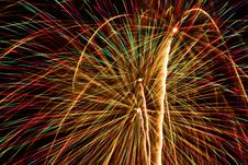 Free Fireworks Show. Stock Photos - 26180613