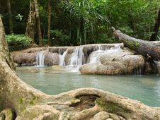 Free Erawan Waterfall Stock Photo - 26180720