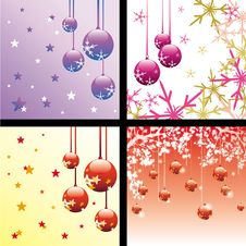 Free Christmas Backgrounds Royalty Free Stock Images - 26180889
