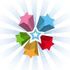 Free Rainbow Background Royalty Free Stock Image - 26180896