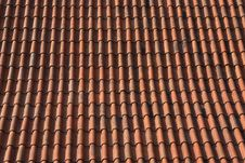 Free Tile Roof Background Royalty Free Stock Images - 26181039