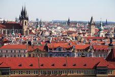 Free Summer Day In Prague Royalty Free Stock Image - 26181046