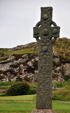 Free Celtic Cross Royalty Free Stock Photo - 26182065