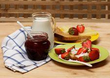 Free Simple Village Breakfast Stock Photography - 26182512