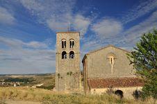 Free Sepulveda: Main Church, Castile Region. Spain Stock Photos - 26182523