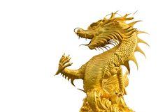 Free Gold Dragon Stock Photos - 26182973