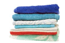 Free Bath Towels Royalty Free Stock Image - 26184586