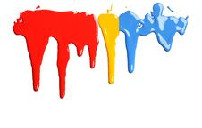 Free Dripping Paint Stock Photography - 26184992