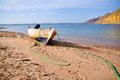 Free Boat On The Beach Royalty Free Stock Image - 26195436