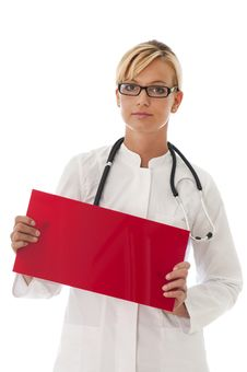 Free Female Doctor Stock Photography - 26192962