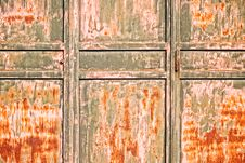 Free Old Rusty Door Royalty Free Stock Images - 26193259