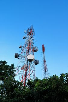 Free Telecommunication Tower Stock Images - 26196254
