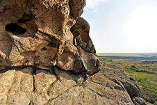 Free Rock Erosion. Weathered. Geological Formations Stock Images - 26198374