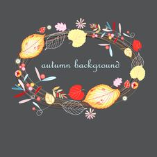 Free Autumn Background Royalty Free Stock Photography - 26198867