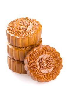 Free Chinese Mooncake Stock Photography - 26199512