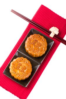 Free Chinese Mooncake Stock Image - 26199581