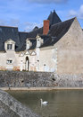 Free French Chateau And Swan Royalty Free Stock Photography - 2624967