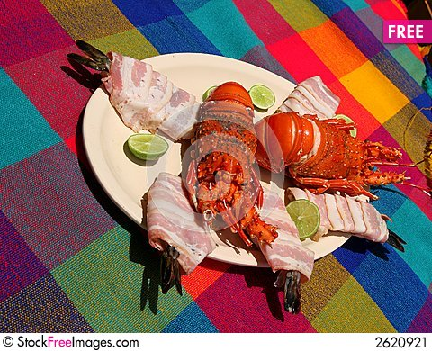 Free Lobster And Ceviche Stock Image - 2620921