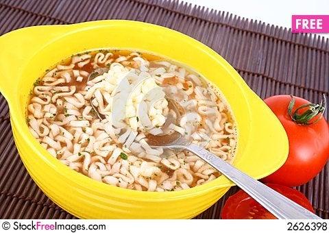 Free Tomato Soup Royalty Free Stock Photos - 2626398