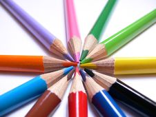 Free Colour Pencils Stock Photos - 2621543