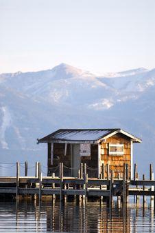Free Lake Tahoe Pier Stock Image - 2623061
