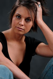 Free Young Woman Stock Photography - 2623192