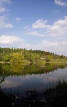Free At A Lake Stock Image - 2624781
