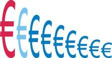 Free Euro Graph Royalty Free Stock Photos - 2626018