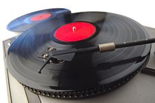 Free Record-player Royalty Free Stock Image - 2627096