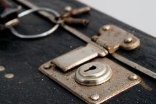Free Suitcase Keyhole Stock Image - 2627591
