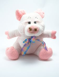 Free A Toy - Soft Pig Royalty Free Stock Images - 2627739