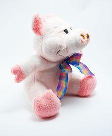 Free A Toy - Soft Pig Stock Photos - 2627743
