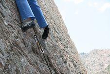 Free Climbing Shoes Stock Photo - 2627900