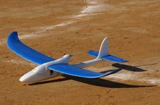 Free RC Plane 1 Inch From Landing Stock Images - 2629314