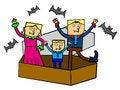 Free Vampire Family Stock Image - 26202131