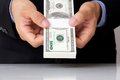 Free Hand Giving Money Stock Image - 26202551