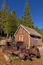 Free Old Shack And Rusty Car Royalty Free Stock Photo - 26202585