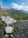 Free Trekking On The Mountains Stock Images - 26204184