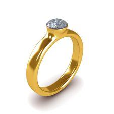 Free Wedding Gold Ring Isolated Royalty Free Stock Image - 26200386