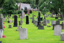 Free Protestant Cemetery Stock Image - 26200411