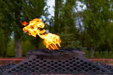 Free Eternal Flame Stock Photography - 26205982