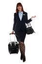 Free Flight Attendant Going To Work Stock Photo - 26213730