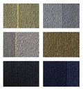 Free Samples Of Collection Carpet On A White Stock Photography - 26214512