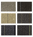 Free Samples Of Collection Carpet On A White Stock Photography - 26214552