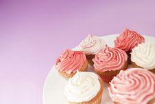 Free Cupcakes Royalty Free Stock Image - 26210576