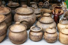 Free Earthenware In The Market Stock Photo - 26211760